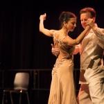 Tango Argentino getanzt von Nina González und Uwe Kops, Tango-Schule VidaMia. Fotograf: Michael Röhrig